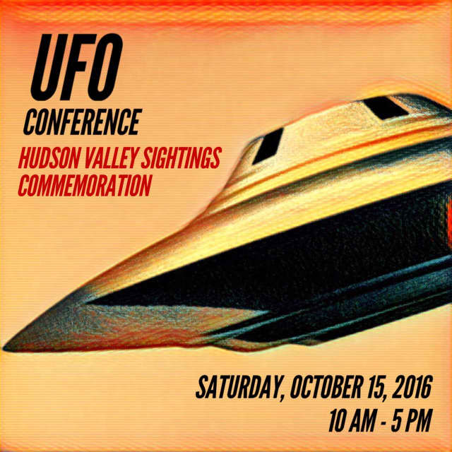 The free conference will provide UFO witnesses the opportunity to share their sightings and learn about the many sightings across the state.
