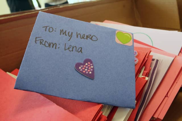 """Join the third annual """"Love a Veteran"""" celebration at Habitat for Humanity of Westchester in New Rochelle, to create cards for those serving oversees."""