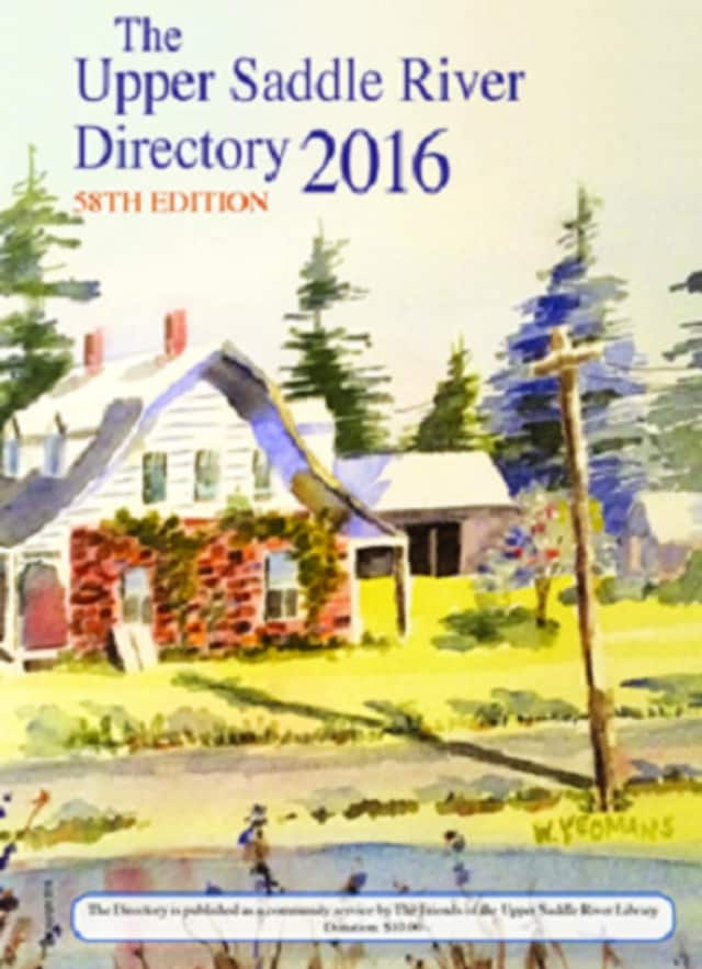 Copies of the handy 2016 Upper Saddle River Directory are available for free, while supplies last.