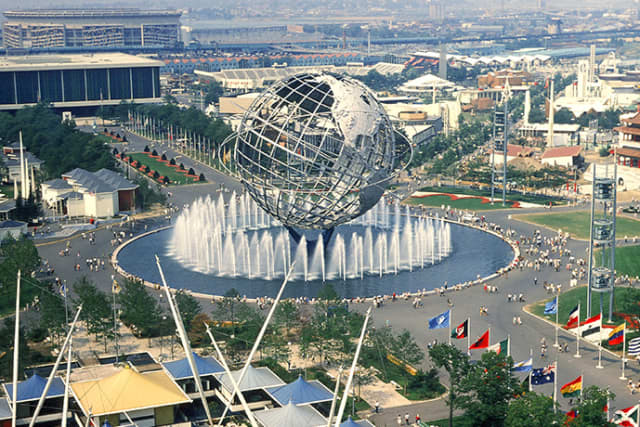 The 12-story Unisphere was central to the 1964 and 1965 World's Fair. Photograph by Anthony Conti.
