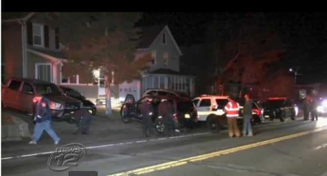 Croton police are searching for the driver who caused them to crash into an SUV, ending a police pursuit that started in Buchanan on Wednesday night.