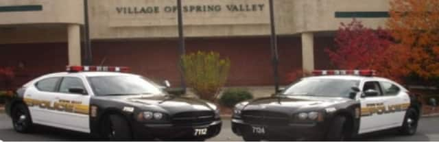 Spring Valley police are looking for the suspects responsible for firing shots into several parked cars at the Meadow Lane Apartments.