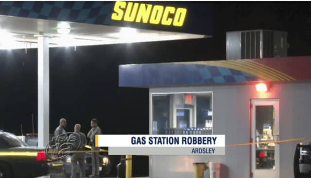 Police are investigating an armed robbery early Sunday at a Sunoco gas station in Ardsley that left the attendant with injuries, News 12 reports.