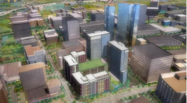 The proposed Hamilton Green development
