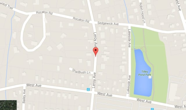 Police reportedly interrupted a burglary in progress on Leroy Avenue in Darien on Dec. 15.