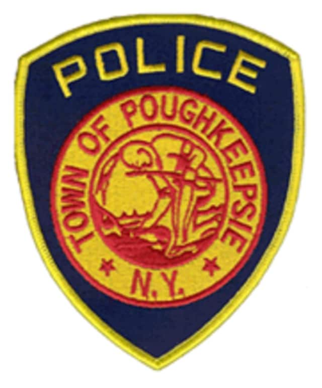 Town of Poughkeepsie police arrested two Hyde Park men after finding drugs and a weapon in addition to property stolen from a town of Poughkeepsie business, the Poughkeepsie Journal reports.