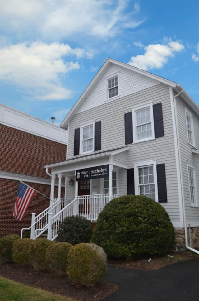 the renovated offices of William Pitt Sotheby's in Darien