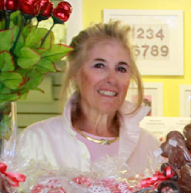 Annette Colasuonno, owner of Lil' Chocolate Shoppe has been named the Business Person of the Year by the Pleasantville Chamber of Commerce.