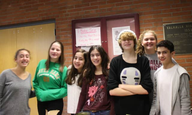 National Junior Honor Society members at Valhalla High School sold baked treats the first week of February to raise money for the local food bank.