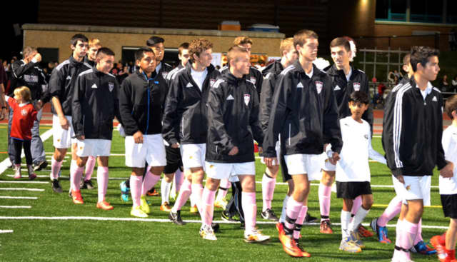 Valhalla High School boys varsity soccer team was honored for sports and academic success.
