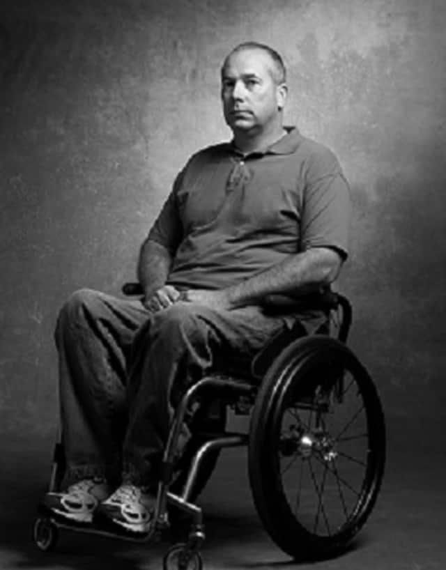 Millerton resident Stephen Valyou, a U.S Army veteran, was paralyzed by a sniper's bullet in 2007 in Iraq during a mission to locate explosives.