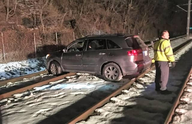 Police found the Edgewater driver drunk in her SUV.