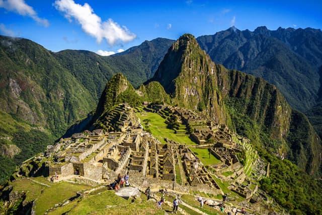 The lost Incan city of Machu Pichu. Courtesy Ron Neuman.