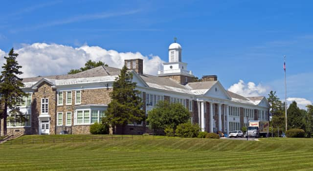 Poughkeepsie's Violet Avenue School is among three schools in the region built by Franklin D. Roosevelt's PWA.