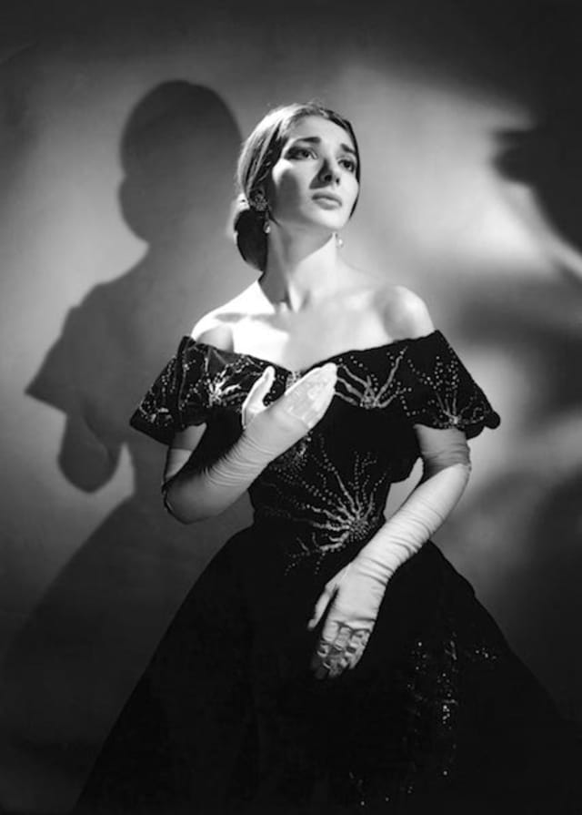 "Maria Callas, seen here as Violetta in Giuseppe Verdi's ""La Traviata"" (circa 1955), is the subject of the documentary ""Maria By Callas,"" at The Picture House's Screening Room through Jan. 17."
