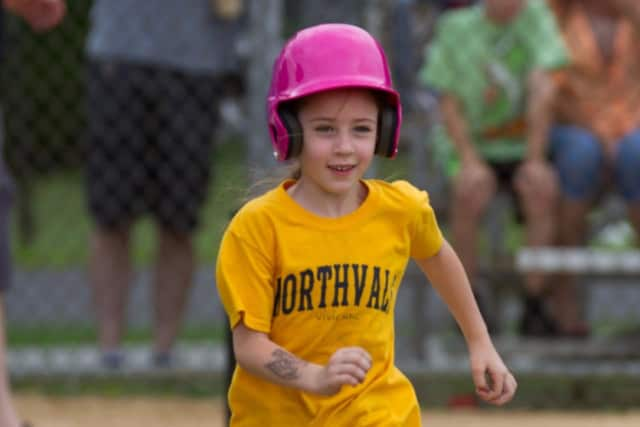 Vivienne Knopp, 7, of Northvale, fell ill over Easter weekend.