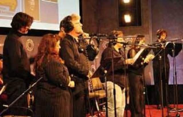 Voicescapes Audio Theater will perform in Easton, Conn., on Saturday, Jan. 9.