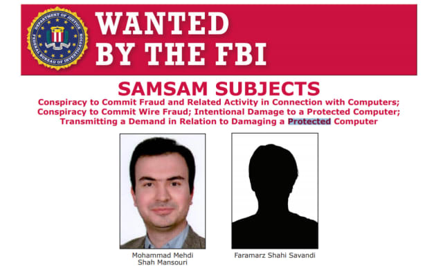 """Savandi and Mansouri used the ransomware """"to hold public and private entities hostage and then extort money from them,"""" U.S. Attorney Craig Carpenito said"""