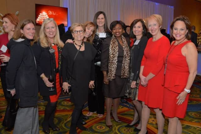 Members of the Business Council of Westchester celebrate at the group's annual holiday party on Tuesday, Dec. 8. The BCW is looking for nominees for its 2016 Hall of Fame.