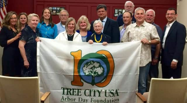 Woodcliff Lake is a tree city for the 10th year