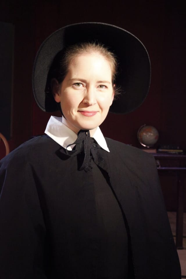 """Trumbull resident Kristin Gagliardi portrays Sister James in """"Doubt"""" opening Friday, Feb. 10 at the Westport Community Theatre."""