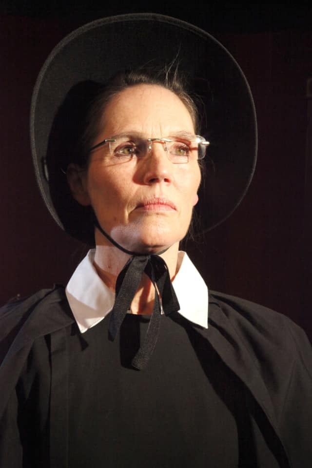 "Susan Stanton of Westport plays Sister Aloysius in the Westport Community Theatre production of ""Doubt, A Parable"" opening Friday, Feb. 10."