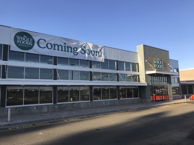 Parsippany's new Whole Foods Market is taking shape.