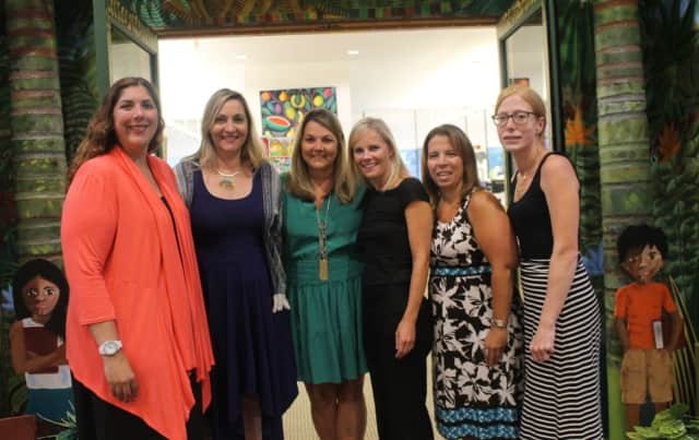 Ladies' Soirée Committee members are: Suzanne Lishnoff, event chairperson, Michelle Shia, Carrie Preisano, Kathleen Zadourian, Jennifer Alesia, and Amy Cooper.