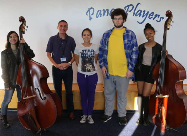Four Panas musicians were selected to Area All-State Groups.