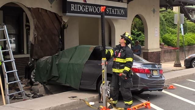 The driver suffered some type of medical emergency, Ridgewood Police Chief Jacqueline Luthcke said.