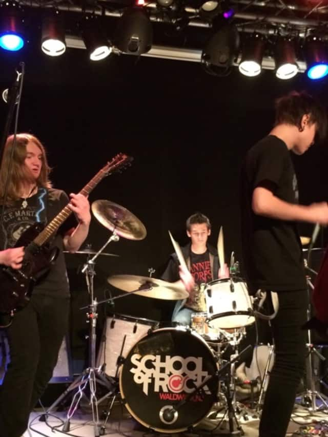 Students at the Waldwick School of Rock will be performing during a charity event Nov. 14.