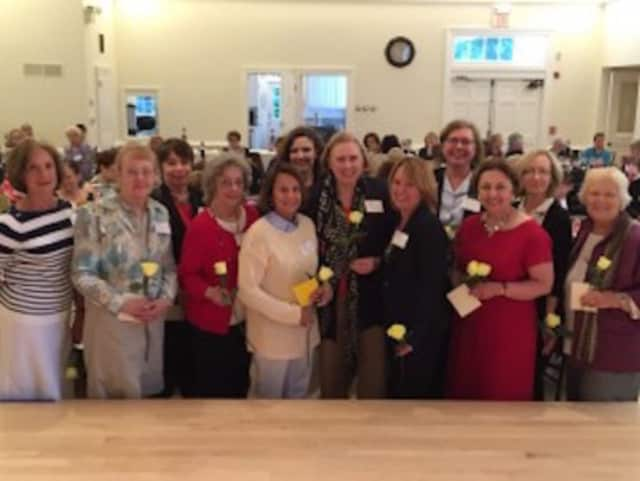 The Westport Woman's Club officers for 2015-16. See story for IDs. The group will hold its popular Nutcracker Tea again this year in Westport.