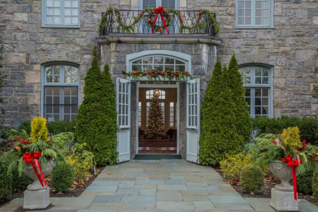 Wainwright House, a 1780 mansion in Rye, is decorated for the holiday season. It will be hosting a series of events in January, including a brunch, film screening and wine tasting.