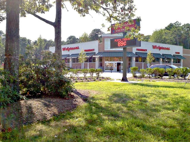 Walgreens, pictured here in Little Egg Harbor, N. J. is acquiring rival Rite Aid.