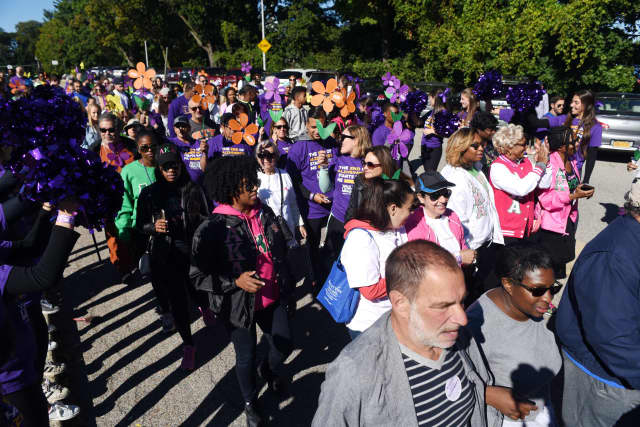 The annual Walk to End Alzheimer's.