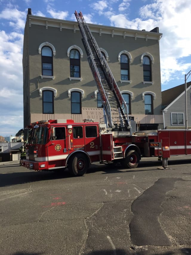 A fire at a Norwalk apartment building left one unit unhabitable and damaged another.