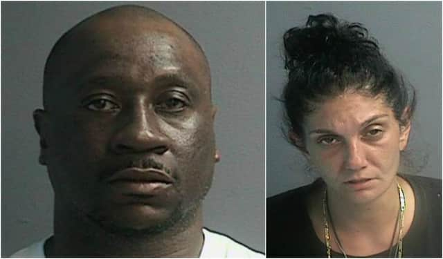 Wayne Police arrested Steven Williams, 40, of Paterson and Jamie Contrano, 40, of Wayne on drug-related charges.