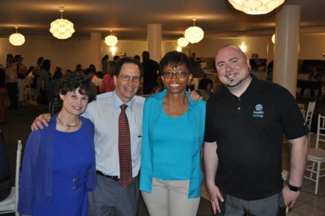 From left, Phyllis Zinner of the Nurse Practitioner Healthcare Foundation, Steve Zeitlin of City Lore, Cheryl Hunter-Grant of the Lower Hudson Valley Perinatal Network and Adam Hughes of HealthlinkNY.