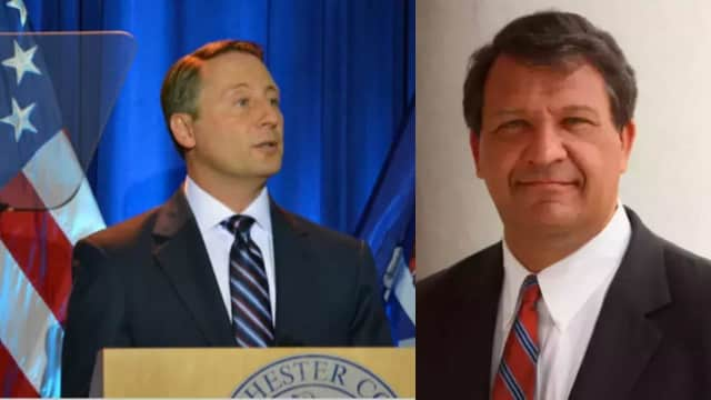 Rob Astorino and George Latimer