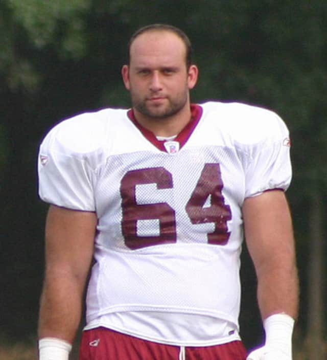 Former NFL offensive lineman Lennie Friedman, a graduate of West Milford High School, turns 39 Tuesday.