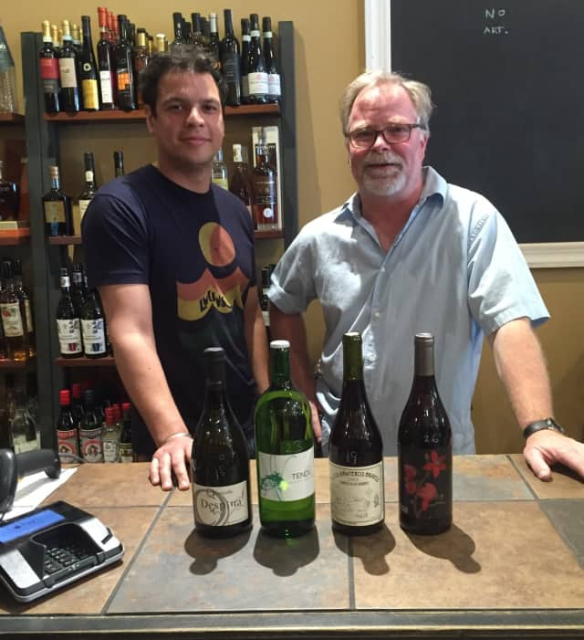 Bruno Peixoto and owner Cai Palmer of Wine at Five show off some of their favorite wines for summer.