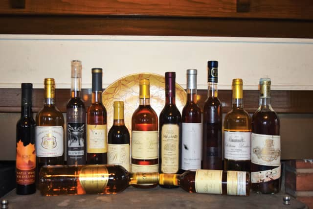 A broad selection of many dessert wine styles, notably Sauternes, ice wine and Vin Santo.