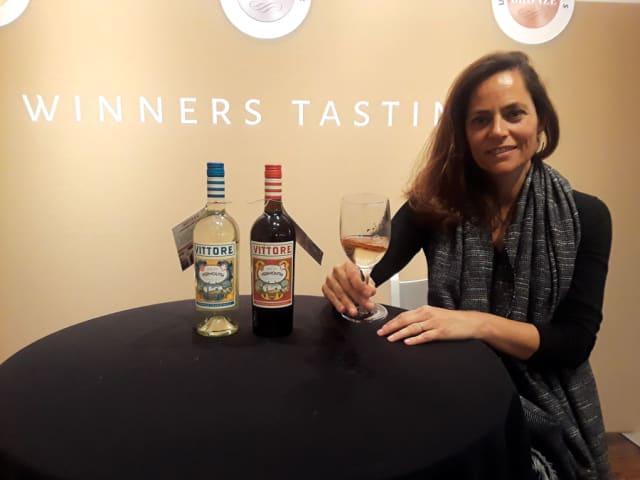 Marta Valsangiacomo, the woman behind Bodegas Cherubino Valsangiacomo, a Valencia winery that also makes a smooth vermouth.
