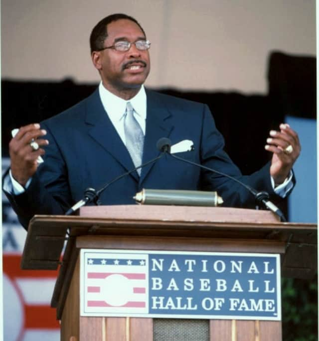 Teaneck resident Dave Winfield