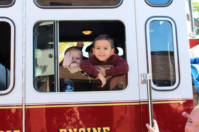 The Wood-Ridge Fire Department is offering fire engine rides Sunday.