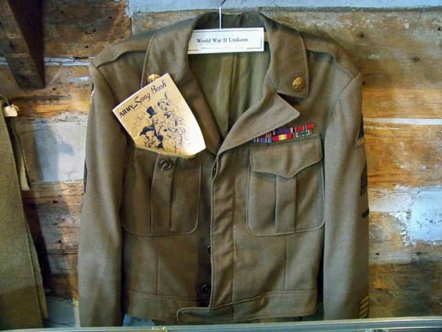 World War II uniform.