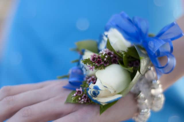 Darien High School officials are urging students attending the prom to purchase flowers through Springdale Florist or Dom's Garden, Flowers & Gifts. Both shops will donate a portion of each sale to the school's Save the Children Club.