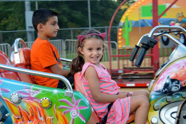 Kids can enjoy free rides at River Vale Day on Sunday, Oct. 18.