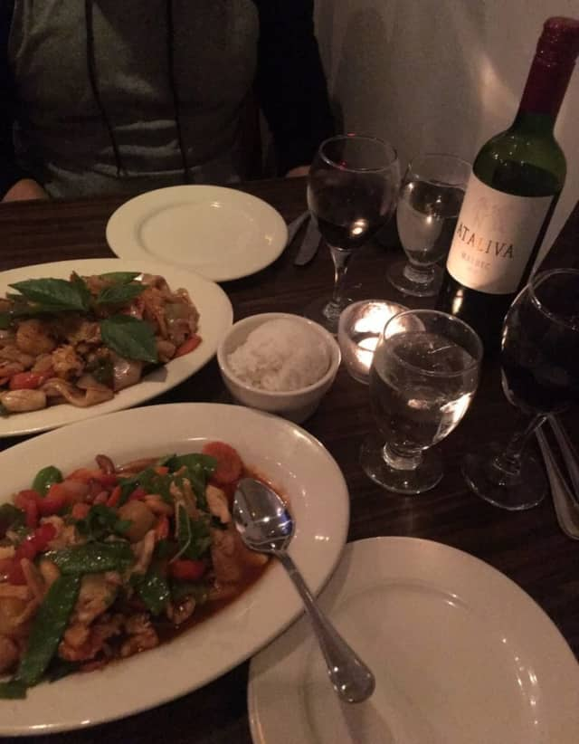 Wyckoff Thai is among the most highly rated restaurants in town, according to yelp.