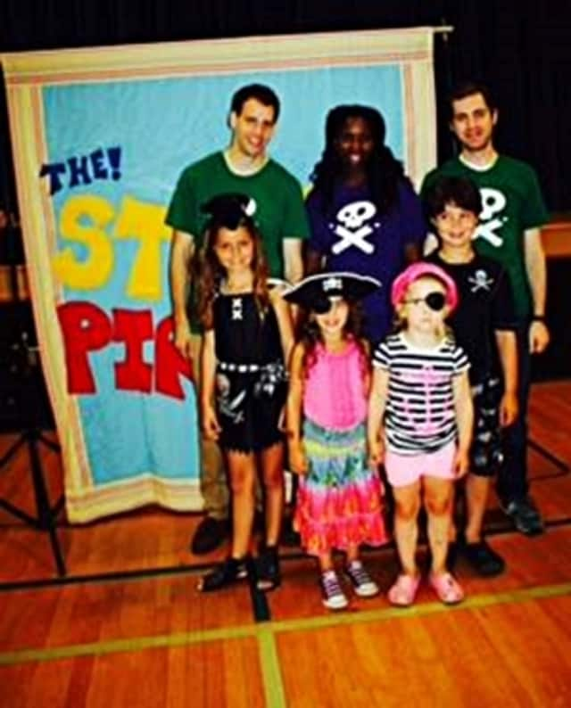 """Wydaca campers in 2014 participated in a """"Story Pirates"""" production."""